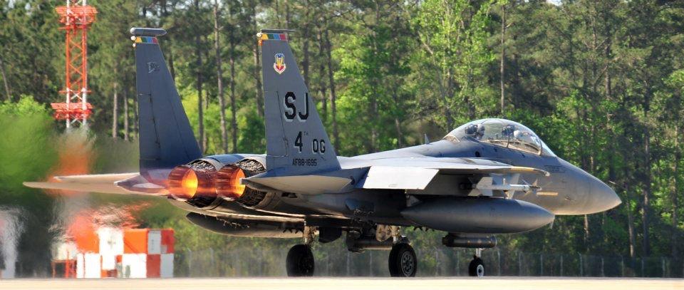 SJAFB F15E Takeoff